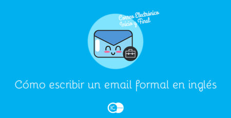 escribir email formal en inglés