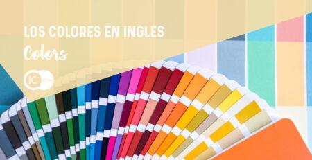 vocabulario los colores en inglés