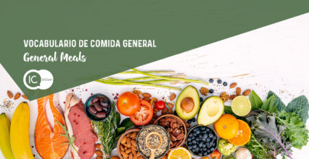 vocabulario de inglés general meals o comida general