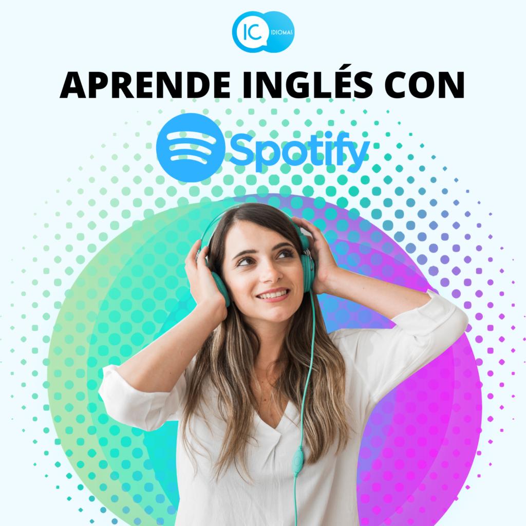 aprender ingles spotify