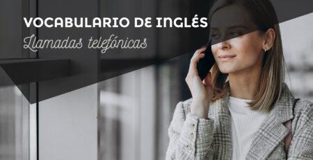 vocabulario llamar telefono ingles